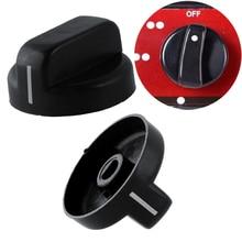 Пластиковая газовая плита, ручки управления, переключатель газа, черный поворотный простой практичный кухонный газовый переключатель