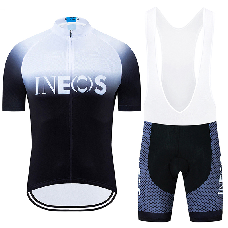 2019 New TEAM INEOS PRO Cycling Jersey Sets Gel Pad Bike Shorts Suit Ropa Ciclismo Mens Summer Quick Dry BICYCLING Maillot Wear|Cycling Sets| |  - title=