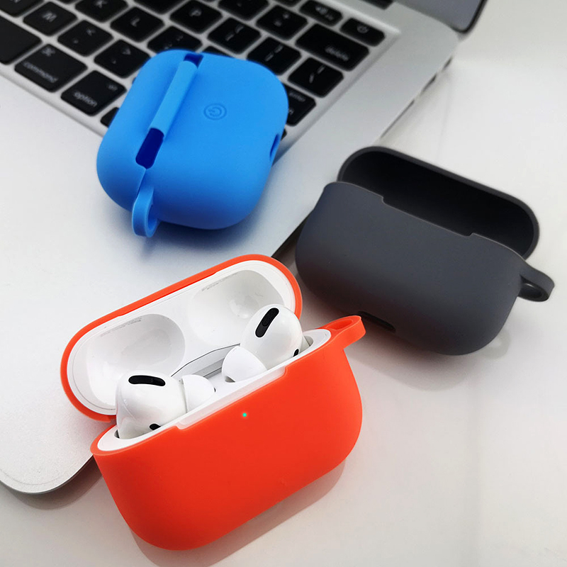 Wireless Bluetooth Earphones Case Protective Cover For Apple Airpods 3 Pro Multiple Colors Soft Silicone Box Cover