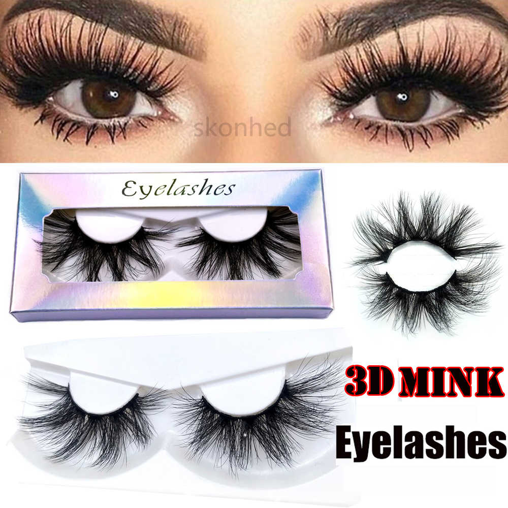 1PC3D Nertsen Haar Criss-Cross Dikke Lange Fake Wimper Gemengde Stijlen Wispies Fluffies Valse Lash Extension Eye Makeup Tools