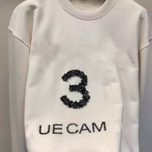 Design Sweatshirt RUNWAY Women Spring Long-Sleeve Fashion Autumn O-Neck Letter 113791