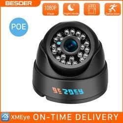 BESDER HD 720P 960P 1080P IP камера 2,8 мм широкоугольная CCTV камера видеонаблюдения домашняя охранная камера s Onvif сигнализация CCTV IP камера XMEye