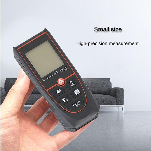 Купить jrtmfg лазерный дальномер 100 м ручной портативный электронный картинки