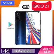 VIVO-teléfono móvil IQOO Z1 5G oficial, MTK1000 Plus, pantalla LCD de 6,57 pulgadas, frecuencia de actualización de 144Hz, NFC, 4500mAh, 44W, cámara de 48MP