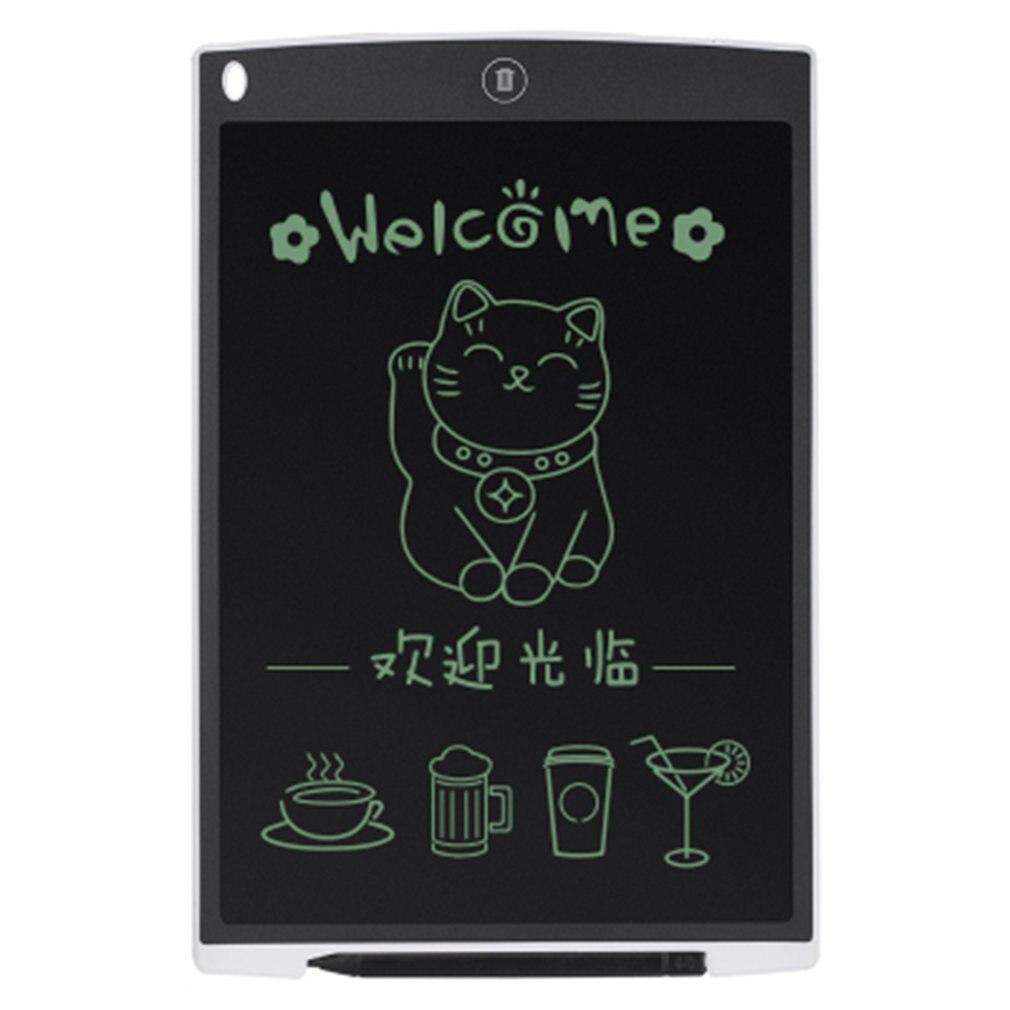 12-дюймовая ЖК-цифровая доска для рисования планшета Sketchpad электронная графическая доска с ковриком для мыши и линейкой