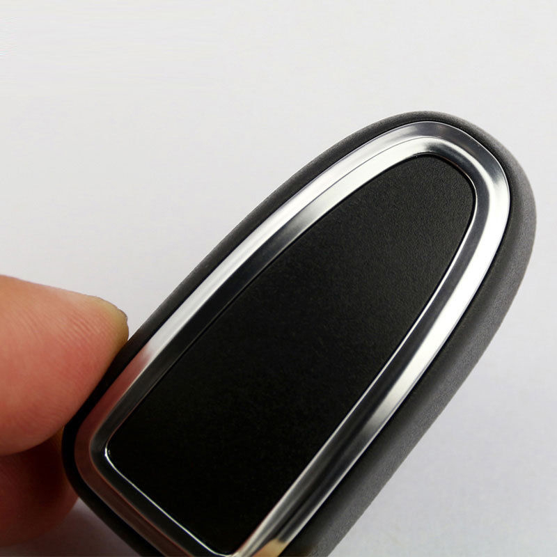 DIY Button Refit Cover Replacement Accessories Trim 4pcs Black Plastic ABS Car Seat Interior Adjustment