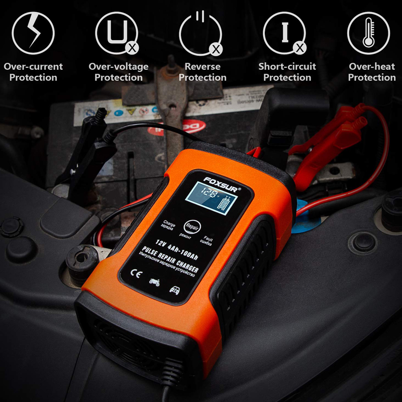 12V Portable Car Battery Batteryless Emergency Charger Starting Device Automotive Smart Battery Charger