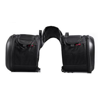 Motorcycle Waterproof Racing Race Moto Helmet Travel Bags Rear Seat Bag Suitcase Saddle Bags