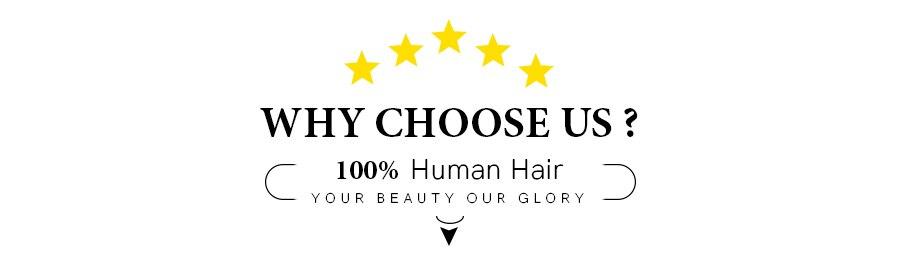 Aplique de cabelo, rabo de cavalo humano