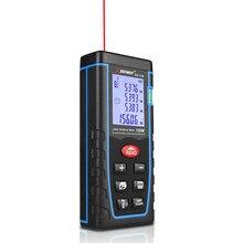 Medidor de distância a laser 40m/60m/80m/100m rangefinder régua diastímetro ferramenta handheld medida área volume telemétrico