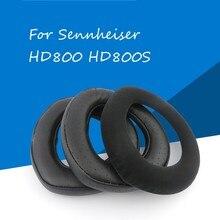 החלפת earpads עבור Sennheiser HD800 כבש אוזן רפידות סרט מכסה עבור Sennheiser HD800S earpads אוזניות תיקון חלקים