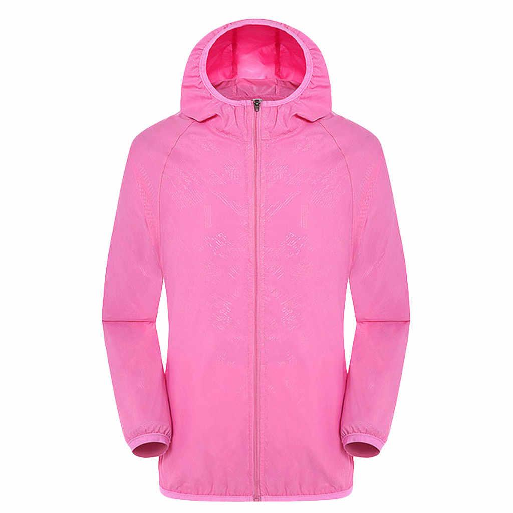 KANCOOLD 2019 春夏新作メンズファッション上着ウインドブレーカーメンズ薄型ジャケットフード付きカジュアルスポーツコートビッグサイズ