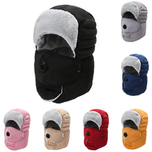 Bomber Hats Caps Earflap Russian Warm Women Windproof for Thicken Winter Breathable Casual