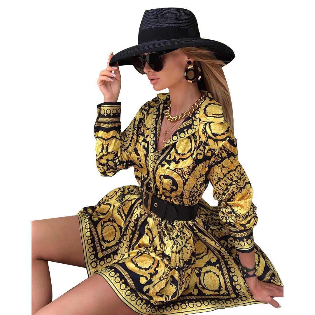 Dashiki Afrikanische Kleider für Frauen Lange hülse der Mädchen Party Kleid Bazin Kleidung Tops Sommer Afrikanische Frauen J1729