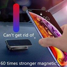 Suporte do telefone móvel do carro liga magnética silicone para citroen c elysee c4l c6 ds4 c crosser c3 c4 c5 ds5 e mehari