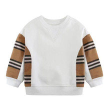 New Children's Clothing Cotton Baby Boys Sweatshirts for Autumn Kids Clothes stripe Little Boys Outerwear Costume