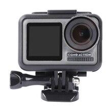 Cadre de protection pour Osmo Action coupe vent couverture éponge insonorisant coton coque étui pour Dji Osmo Action caméra accessoires