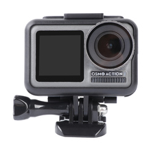 Protective Frame For Osmo Action Windproof Cover Sponge Sound Absorbing Cotton Shell Case For Dji Osmo Action Camera Accessories