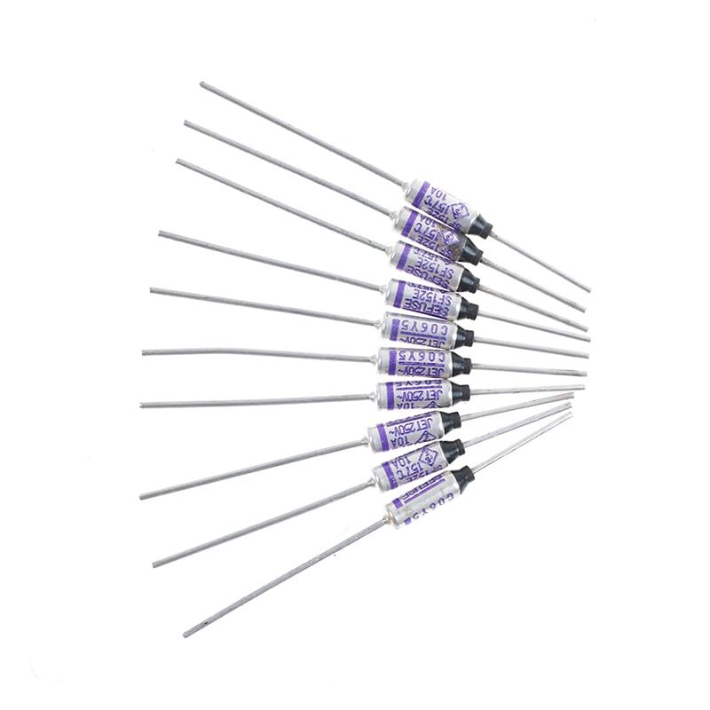 10Pcs/lot SF152E SEFUSE Cutoffs Thermal Fuse 157 Degree 10A 250V Wholesale