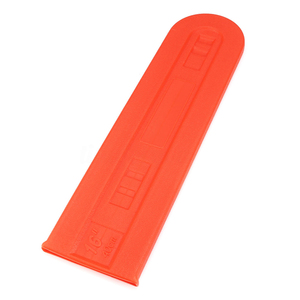 Image 4 - 1x Plastic Orange Chainsaw Bar Protect Cover Scabbard Guard for Stihl Chainsaw Bar Cover Tool Part Accessories