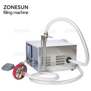 Image 3 - ZONESUN GZ GFK17C Automatic Filling Machine Laundry Detergent Shampoo Oil  Juice Water milk Liquid Bottle Filling Machine