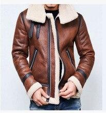 Sıcak kış motosiklet Faux deri ceket erkek pu deri ceketler moda sokak stili Masculina erkek deri mont artı boyutu