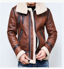 Warm Winter Motorcycle Faux Leather Jacket Mens PU Leather Jackets Fashion Street Style Masculina Mens Leather Coats Plus Size