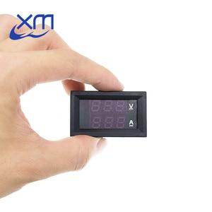 """Image 5 - DC 0 100V 10A Digital Voltmeter Ammeter Dual Display Voltage Detector Current Meter Panel Amp Volt Gauge 0.28"""" Red Blue LED"""