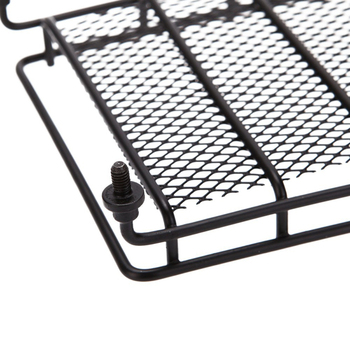 Hot Sale Universal Black Steel Cargo Carrier Roof Rack Basket Cross Bar Car SUV image