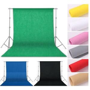Image 2 - Фон для фотосъемки из нетканого материала с зеленым экраном 1,6x4/3/2 м