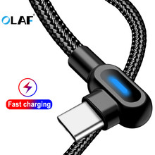 OLAF 2.1A Fast Charge USB Type C Cable W