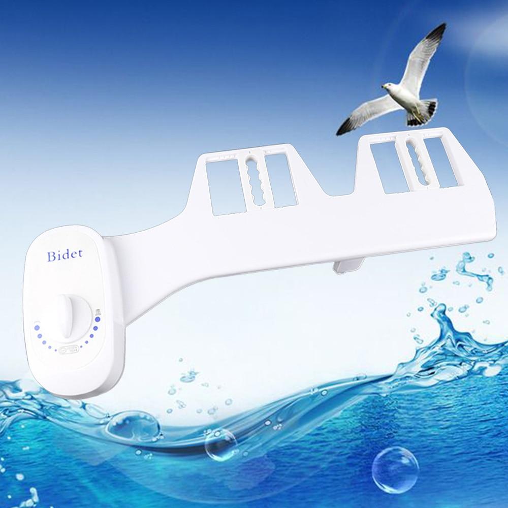 Multi-functional Bidet Toilet Seat Elongated White Easy DIY Installation Adjustable Heated Seat for