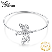JewelryPalace Dragonfly Bracelet 925 Sterling Silver Bangles Bracelets For Women Jewelry Making Organizer