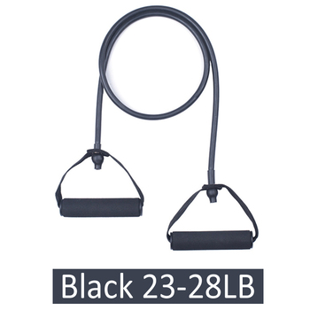 120cm 5 Levels Yoga Pull Rope Resistance Bands TPE Elastic With Handles Fitness Exercise Gym