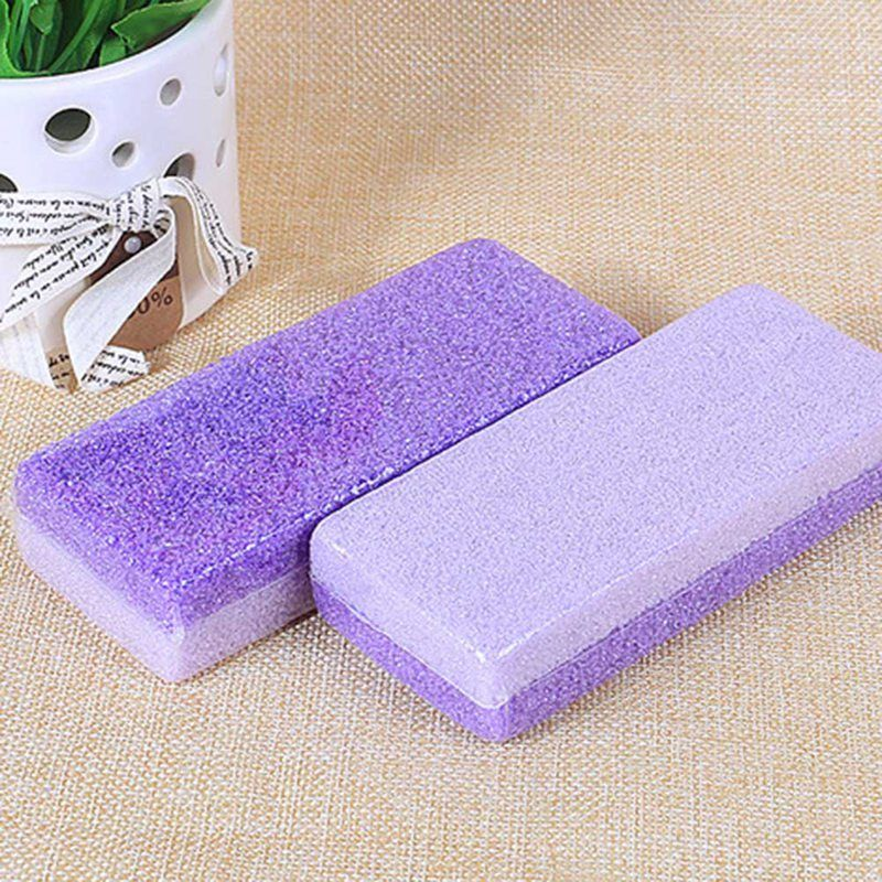 1PC Foot Pumice Stone Sponge Block Callus Remover For Feet Hands Scrub Manicure Nail Tools Professional Pedicure Foot Care Tools