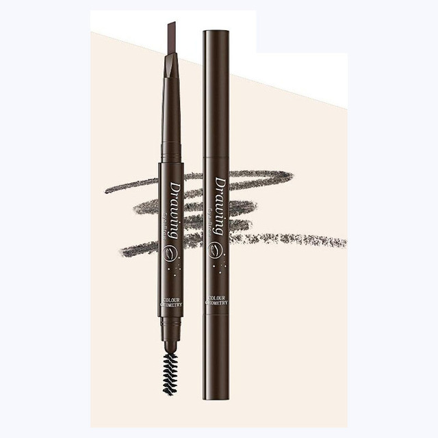 EyeBrow Pencil Cosmetics Makeup Tint Natural Long Lasting Paint Tattoo Eyebrow Waterproof Black Brown Eye brow Makeup Set Beauty 2