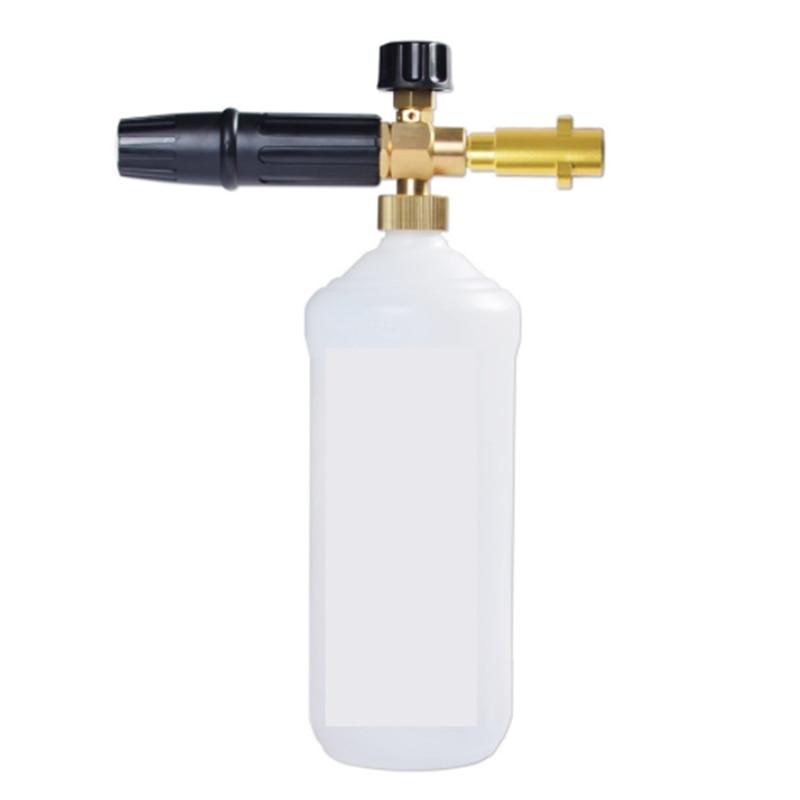 1L Foam Generator Foam Nozzle Suitable for Karcher K2 K3 K4 K5 K6 K7 Tornado Nozzle High Pressure Cleaning Watering Can