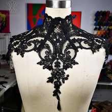 Purely Handmade Lace Adjustable Gothic Neck Corset Burlesque Cosplay Halloween Costumes For Women 2018