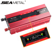 Transformer Inverters 220V 12V Sine-Wave Modified 12-220-Power-Adapter 2000W To USB Auto