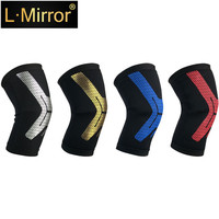 L.Mirror 1Pcs Knee Brace,  Compression Sleeve Support for Running, Arthritis, ACL, Meniscus Tear, Sports, Joint Pain Relief