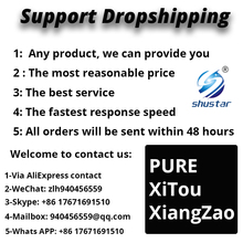 Для прямой поставки. Приветствуем сотрудничество с личными буквами. Лучшая цена-Anderson Nery-PURE XiTouXiangZao