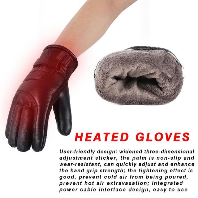 Winter Electric Heated Gloves  4