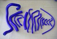 Silicone Radiator Hose Kit For MITSUBISHI LANCER FORTIS MK9 08 12 (15PCS) red/blue/black