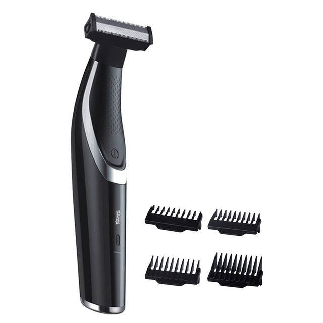 Twarz ciało włosy trymer broda akumulator profesjonalna brzytwa golarka elektryczna USB depilator ścinanie włosów maszyna mężczyzna pielęgnacja