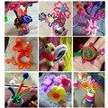 50/100 шт многоцветные стебли синели, очистители труб ручной работы Diy художественные поделки материал Дети творчество ручной работы детские ...