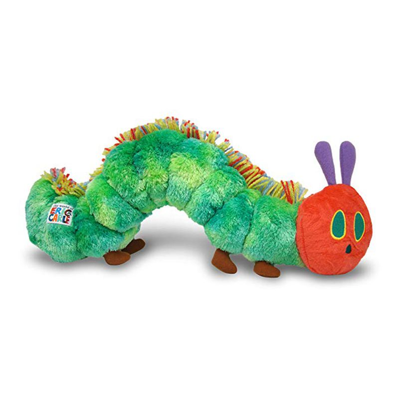23cm World Of Eric Carle, The  Green Very Hungry Caterpillar Plush Toy, Baby Kids Stuffed Soft Pillow