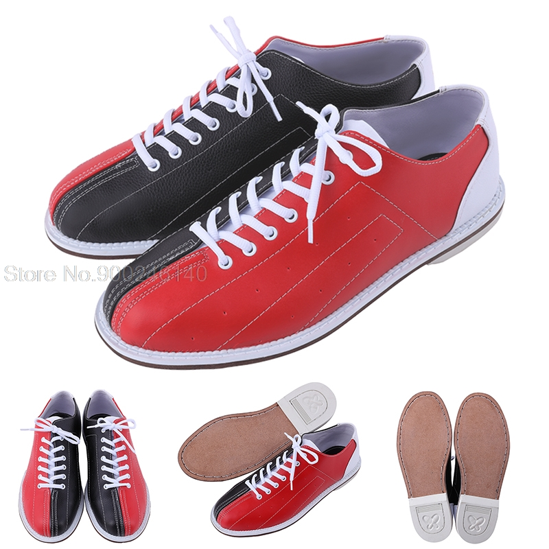 Men Sneakers Breathable Bowling Shoes Male Skidproof Sole Sports Shoes Comfortable Wearable Bowling Shoe Supplies Size 38-45