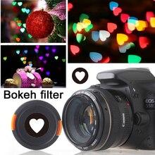Bokeh master kiti Bokeh etkisi Lens kapatma başlığı filtresi sanatsal romantik gece sahne fotoğraf Canon Nikon Yongnuo lensler