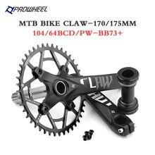 Roda dentada da manivela da mountain bike 170mm 175mm 30t 32t 34t 36t 38t 40t 42t 46t 48t 50/52t roda dentada mtb parte da bicicleta