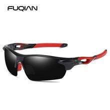 FUQIAN Brand 2019 Sports Polarized Sunglasses Men Fashion Color Driving Sun Glasses Unisex Fishing Eyewear UV400
